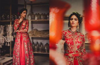 Indo-Western Dress for Bride Who Wants to Make a Style Statement