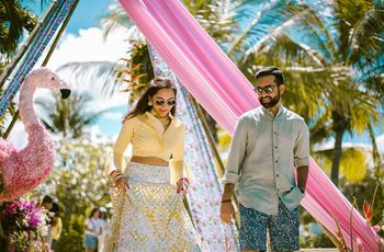 Keep It Stylish with an Indo-Western Dress for Engagement