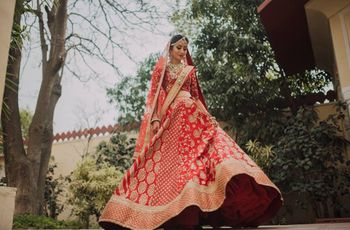 Lehenga Wearing Styles for All Body Types: Styles That Make You Shine