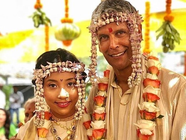 Milind Soman Wedding: Why They Wore Ivory and Gold for an eco-friendly ceremony