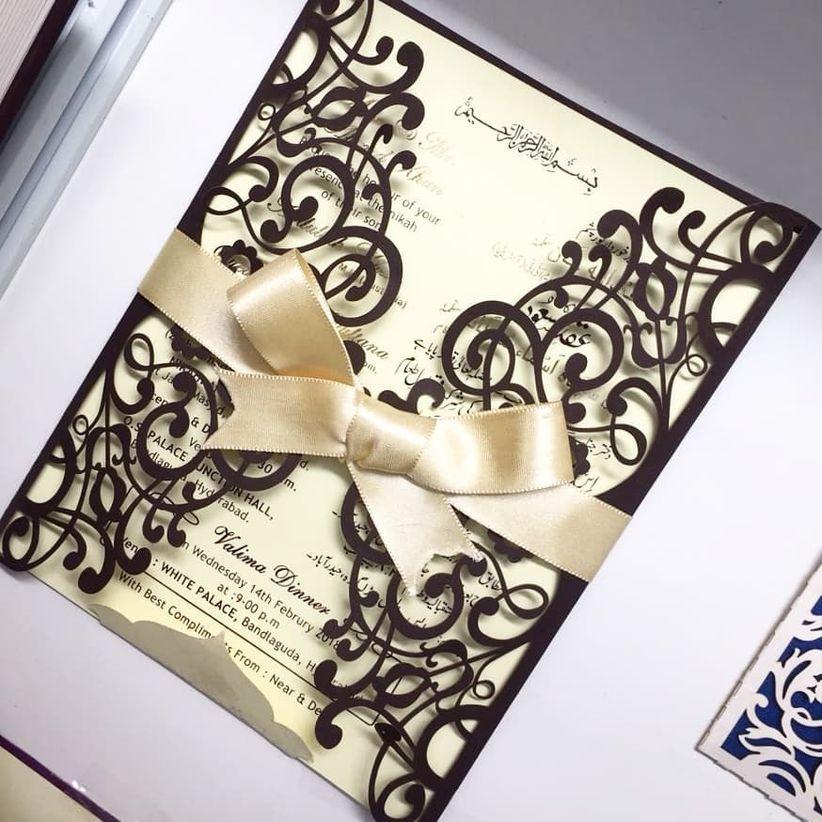 Muslim Wedding Invitation Wording: All The Muslim Wedding Invitation Cards Details That Go