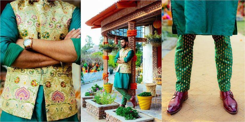 12 Kitschy Kurta Pajama With Jacket For Wedding Images That Rocked
