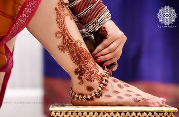 9 New Bridal Mehndi Designs Which Left Us Desiring For More