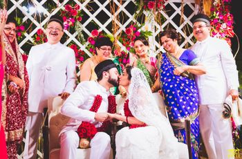 Parsi Wedding Traditions and Ceremonies - A Red and White Affair