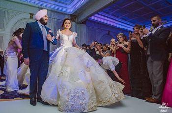 8 Spectacular Indian Reception Dresses For Bride
