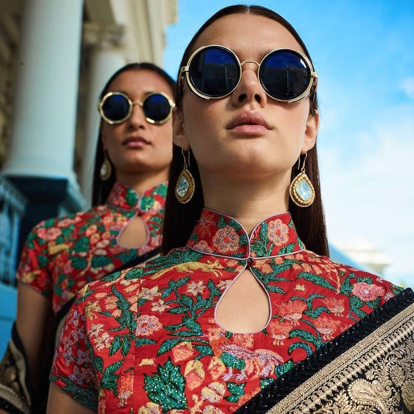 a4457612e7c Level Up! 20 Gorgeous Sabyasachi Blouses That Serve as Inspiration ...