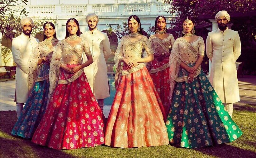 Serve Looks In These Sabyasachi Lehengas To Unleash The