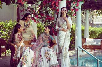 Up Your Style Quotient with These Sabyasachi Sarees & Turn Some Heads Around