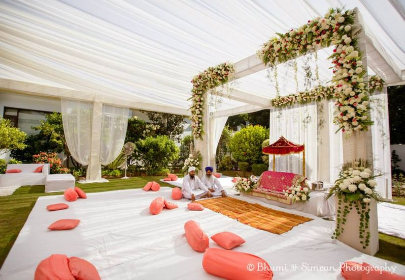 Simple Ceremony Decorations: Simple Indian Wedding Decoration Ideas: Minimalistic