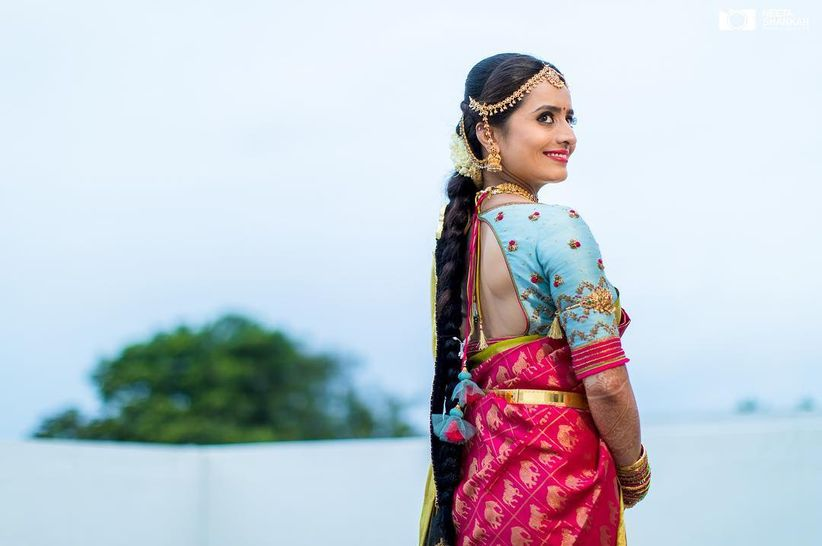 21 South Indian Bridal Blouse Designs To Pair With Your Kanjivaram