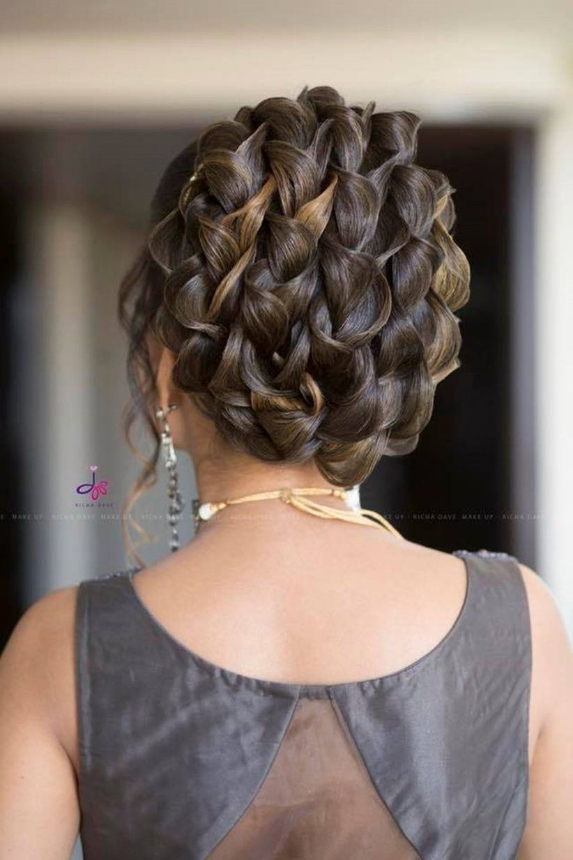 French Roll Hairstyle For Long Hair For Engagement The Mercedes Benz