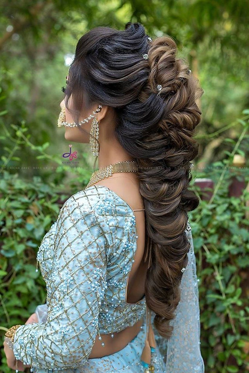 Your How To Guide On South Indian Bridal Hairstyles For Engagement