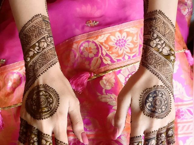 5 Stylish Mehndi Designs For Brides and Grooms!