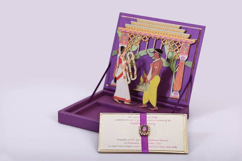 Traditional Marathi Wedding Card Wordings