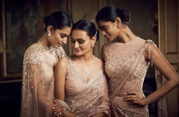 12 Wedding Saree Photos for Unconventional Bridal Looks