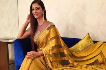 6 Trendy Yellow Saree for Wedding Inspirations to Brighten Any Bride's Day