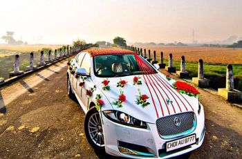 Car Flower Decoration Ideas for Your Wedding Car You Must Try Out