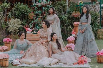 21 Crop Top and Lehenga Designs To Look Like The Perfect Bridesmaid at Your BFF's Wedding
