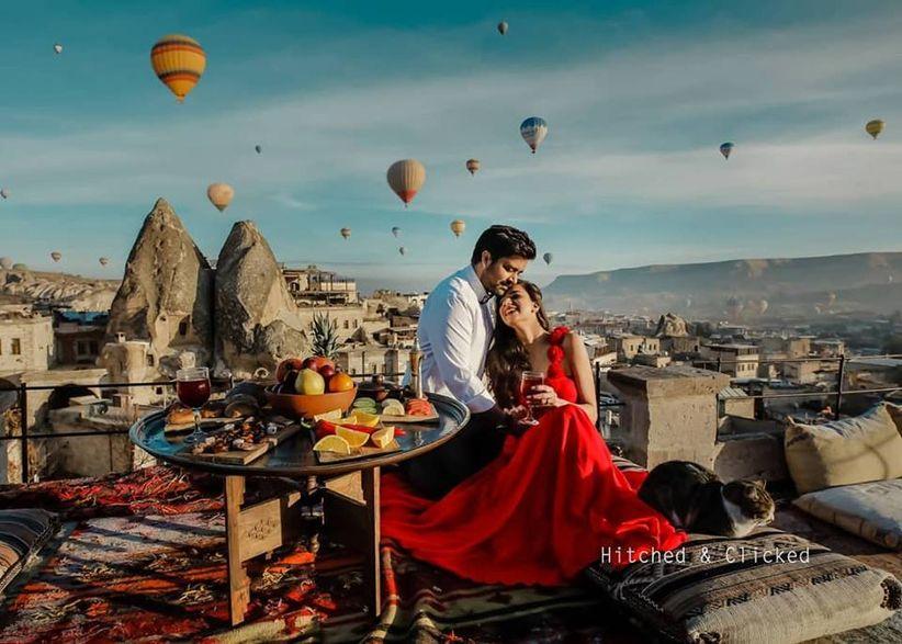 Couple date ideas in Cappadocia, Turkey