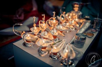 This Is How You Can Use Diya Stands to Elevate Your Hindu Wedding Décor