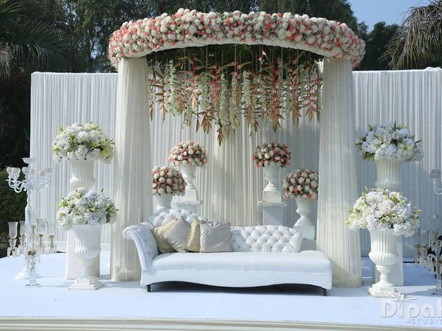 The Only List of Vendors in Delhi for Stunning Engagement Stage Decoration You Need to See