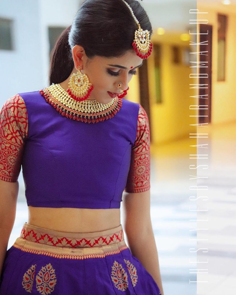 9 hairstyles for lehenga that will amp up your outfit to another level