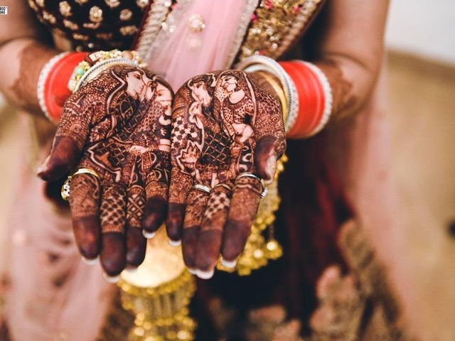 11 Hand Mehndi Designs to Add Statement to Your Bridal Look