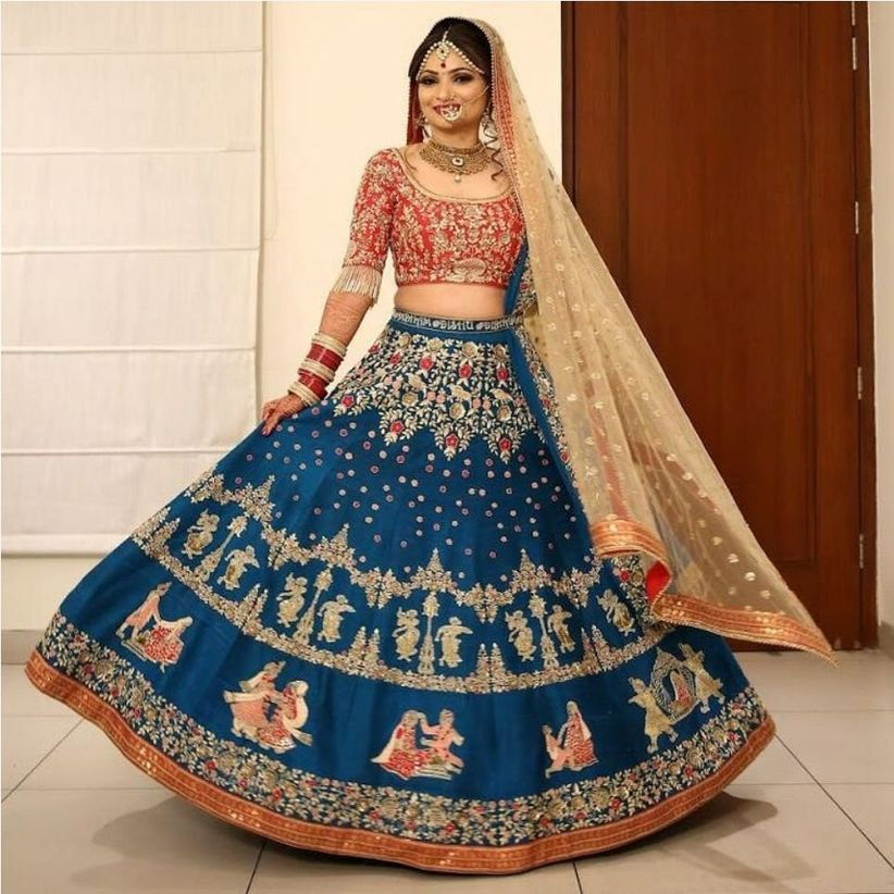 6ed9d5ca5c Here's Solving The 'How To Make Lehenga From Old Saree' Question For ...