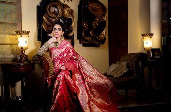 Learn How to Wear Saree to Look Slim This Wedding Season