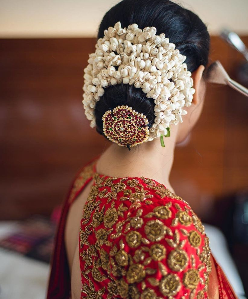 Indian Wedding Hairstyles Pictures: 8 Gorgeous Indian Hairstyles With Gajra For Everyone