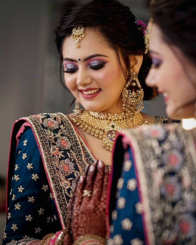9 brides with striking indian wedding makeup looks that