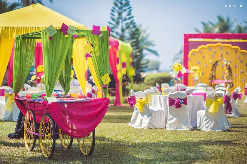 Kite Decoration Ideas To Make Your Wedding Events More Colourful And