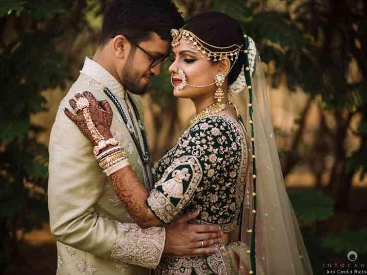 Curvy-maharani Indian Wedding