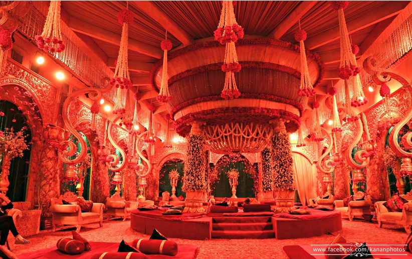 10 Breathtakingly Gorgeous Mandap Decoration Ideas You Need To See