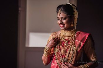 Manga Mala Designs That Will Enhance The Look of Every South Indian Bride