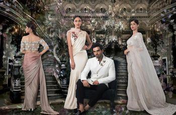 12 Stellar Manish Malhotra Sarees That Have the Power to Turn You into a  Wedding Trousseau Shoppoholic