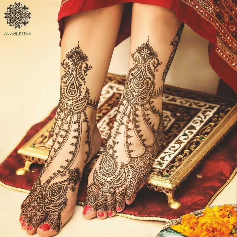 Arabic Mehndi for your Feet