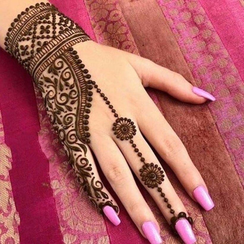 Modern Henna Designs: 50 Modern Bridal Mehndi Designs That A Bride Of Today Can