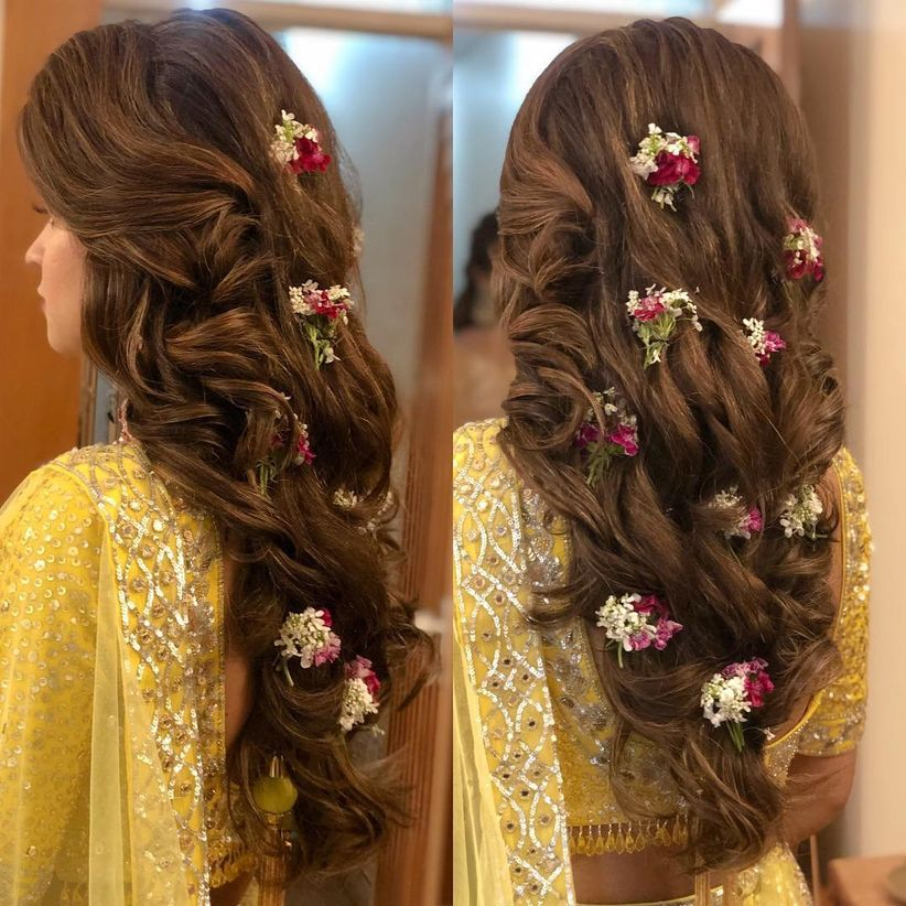 Hair Style Wedding Open Hair: Amp Up Your Open Hairstyle With These 6 Types Of