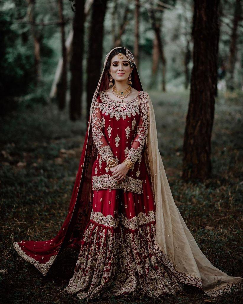 8 Gorgeous Brides And Their Pakistani Wedding Dresses That