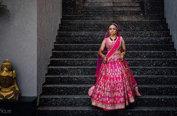 10 Enchanting Rajasthani Lehenga Inspiration for Brides Who Are Super Stylish & Chic