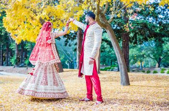 Adorn Auspicious Hues of Red and White Lehenga on Your Big Day! Here's How