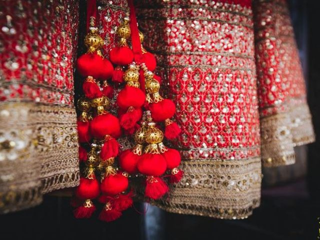 Red Alert: 16 Real Brides Prove Why a Red Wedding Lehenga Is Absolute Bridal Outfit Goals