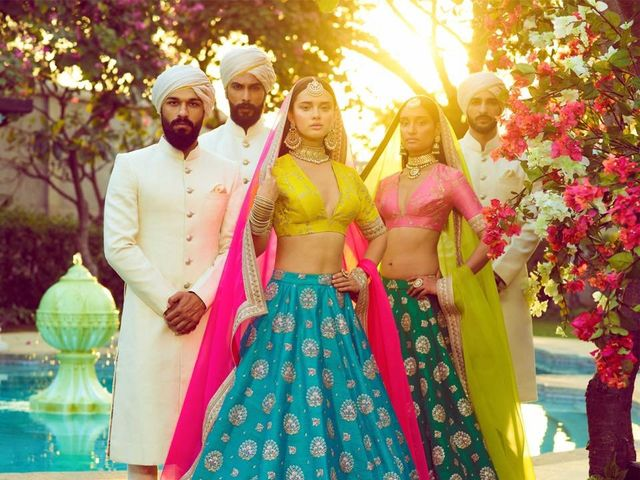 Get Your Own Stunning Sabyasachi Lehengas on Rent from These 5 Stores