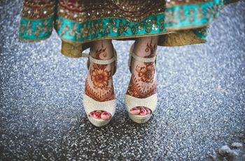 Simple Leg Mehndi Designs for the Bride-To-Be That Are in Vogue Right Now!