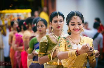 Simple Maggam Work Blouses for the Sisters and Bridesmaids - So Even They Get to Shine