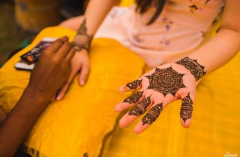 #Intricatelybeautiful: Finger Mehndi Designs We Are Swooning Over!