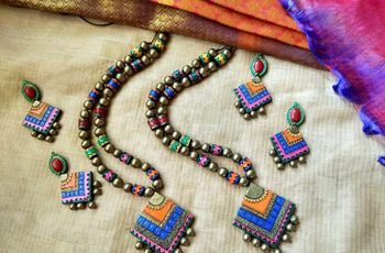 Why Terracotta Jewellery Is The New 'In' Thing For The Modern Indian Bride
