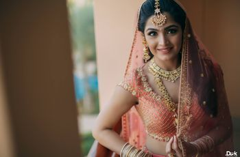 10 Times Brides Nailed a Trendy Blouse Design by Pairing It with the Right Jewellery