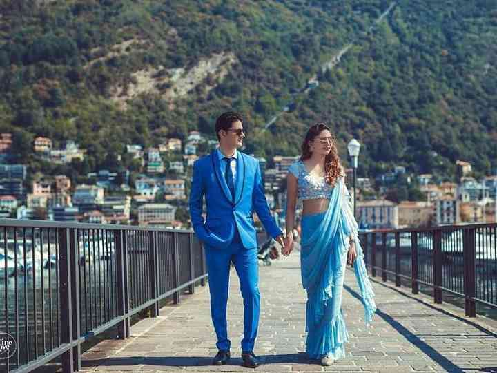 8 Times Wedding Couples Complemented Each Other Perfectly with Their Beautifully Coordinated Outfits